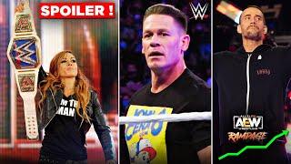 John Cena RETURNING Soon After Summerslam 2021 Becky Lynch HEEL TURN Secret AEW MASSIVE Ratings