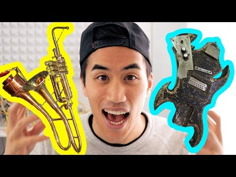 Tracking down the weirdest instruments in the world
