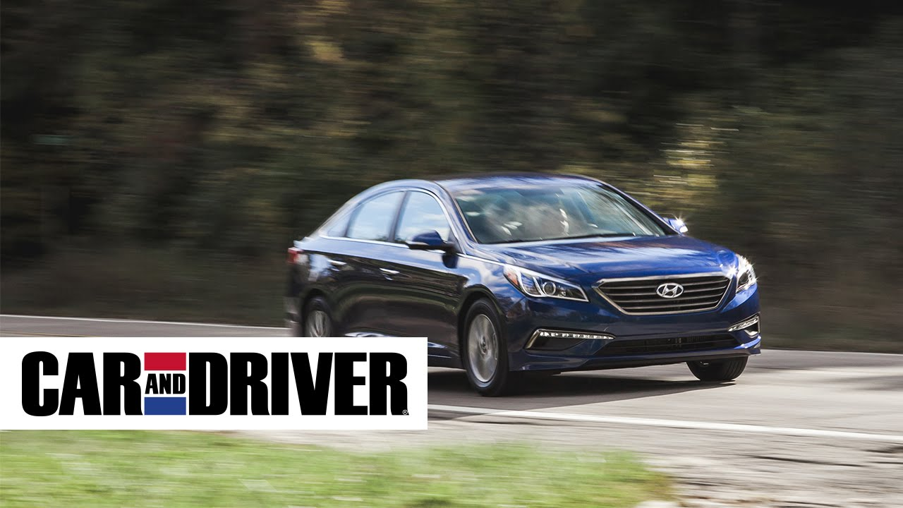 2017 Hyundai Sonata Eco Review In 60 Seconds Car And Driver