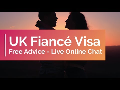UK Fiancé Visa Free Advice - Live Online Chat