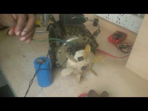 3 phase motor hook up
