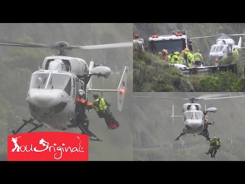 Amazing Helicopter Rescue In New Zealand