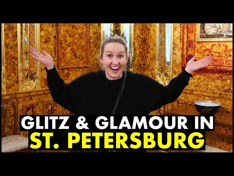 Catherine Palace & Faberge Museum in St. Petersburg, Russia