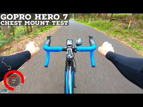 LAMA RIDES: GoPro Hero 7 Chest Mount Test // Fast Road Bike Descent