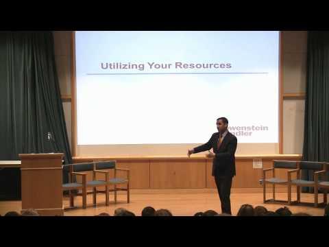 Michael Kaplan L'11 Addresses the Syracuse...