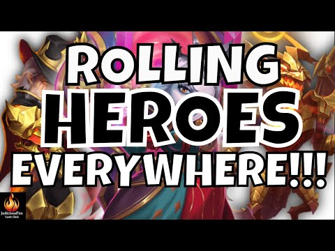 Castle Clash ROLLING HEROES Limited Hire