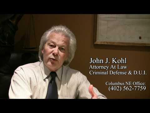 Columbus NE DUI - Criminal Defense Attorney