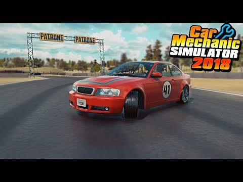 RACE TRACK UPDATE - Car Mechanic Simulator 2018