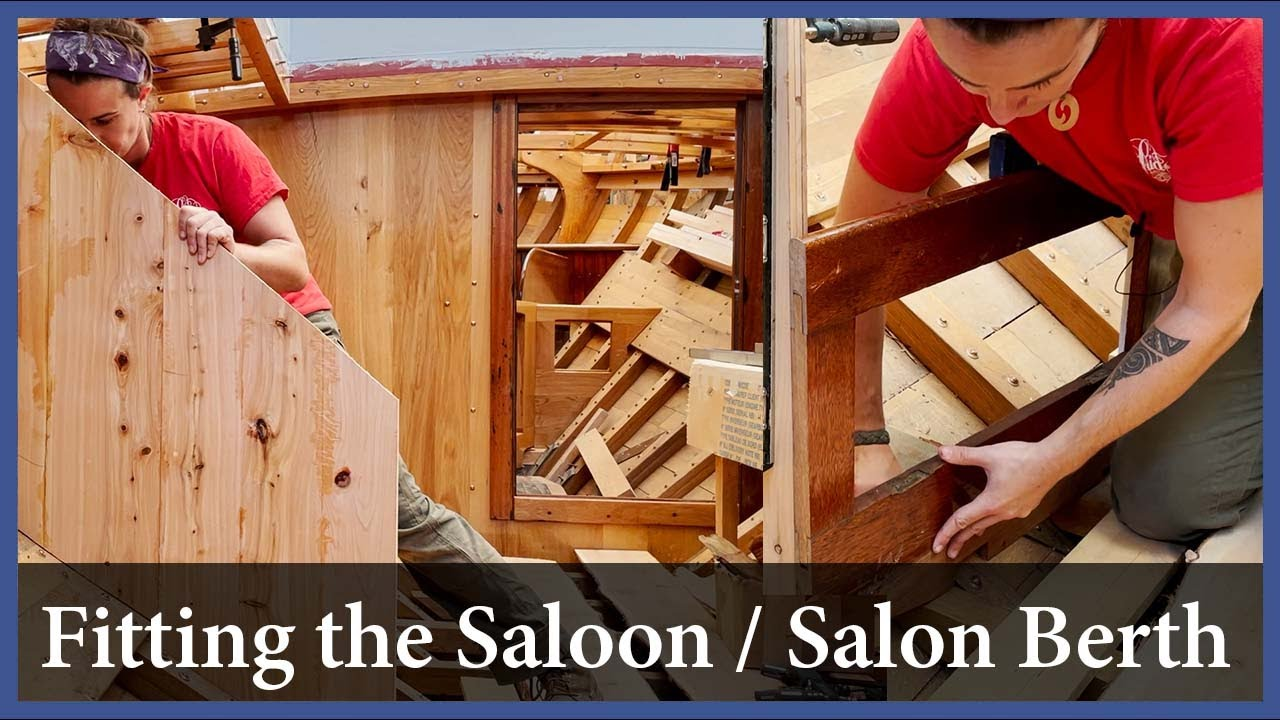 Download Fitting the Saloon / Salon Berth - Episode 178 - Acorn to Arabella: Journey of a Wooden Boat