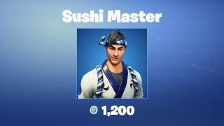 Maître de sushi Fortnite Outfit/Peau