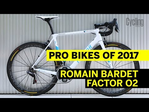 Romain Bardet's Factor O2 | Pro Bikes of 2017 | Cycling Weekly