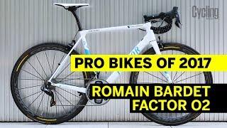 Romain Bardet's Factor O2 | Pro Bikes of 2017 | Cycling Weekly