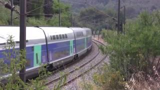 27. TRAINS ET TGV DANS LE SUD ... V ... part 2 ... HD