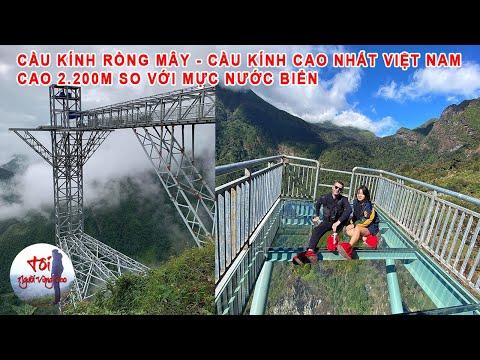 Liều Mạng Leo Lên Cầu Kính Rồng Mây - Cầu Kính Nguy Hiểm Nhất Việt Nam Trên Đèo Ô Quý Hồ