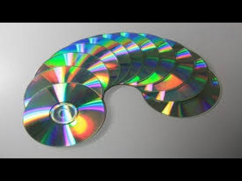 17. Manualidades: Colgante decorativo (Reciclaje de CD) Ecobrisa.