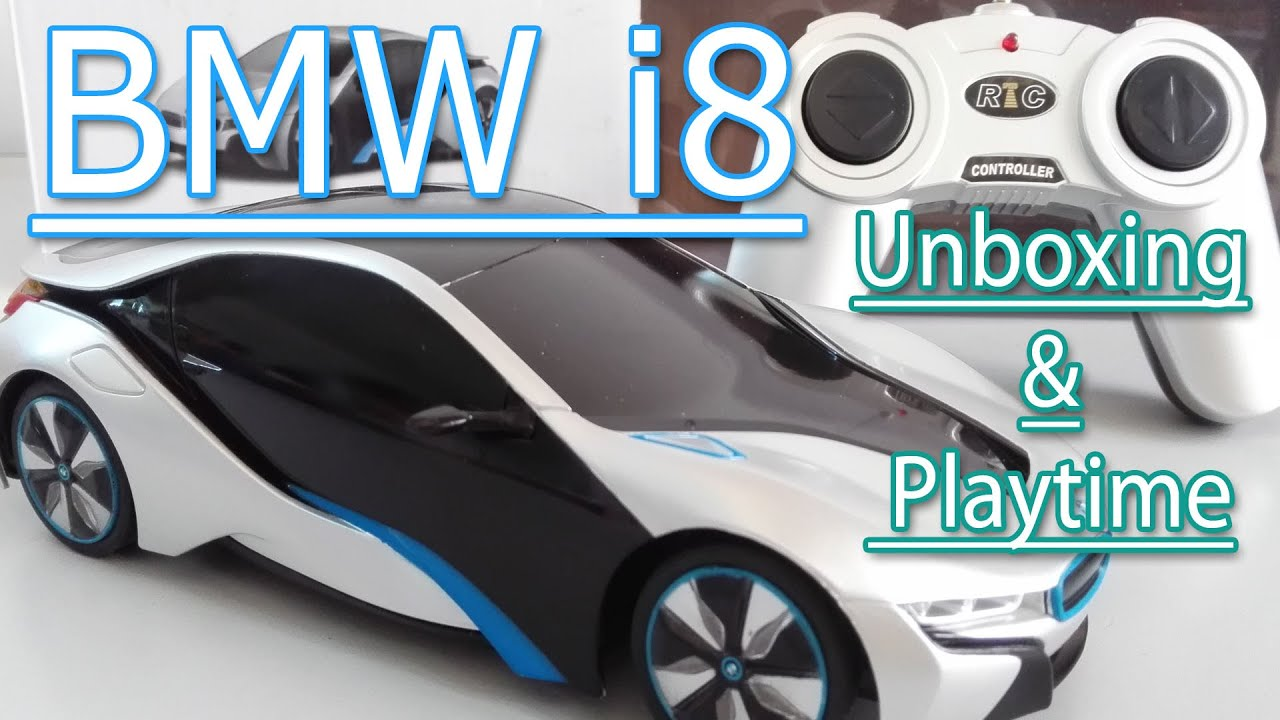 toy car bmw i8 toy car unboxing and playtime toys for kids