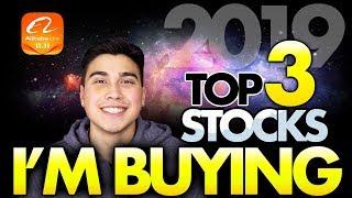3 STOCKS I'M BUYING IN 2019!!!