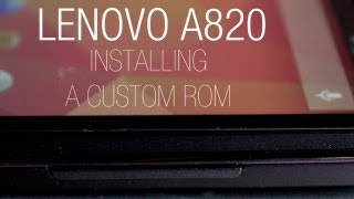 Tutorial: Lenovo A820 - rooting and installing a custom English ROM with Flashtool