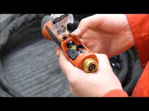 Assembling New Castolin Eutectic Push Pull Torch For XuperArc Welding Equipment