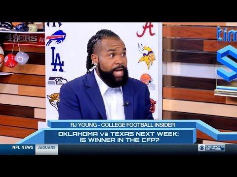 RJ's Appearance On CBS Sports Network Talking College Football
