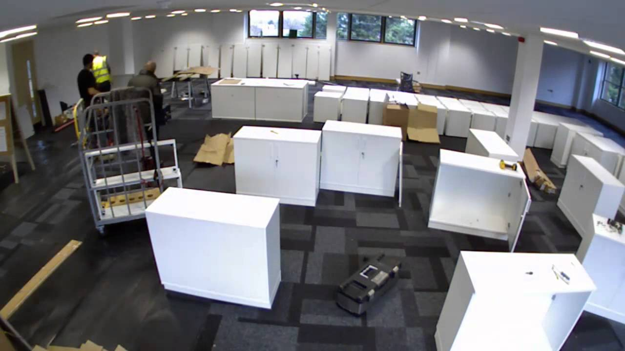 INTEGRAL OFFICE FITOUT TIME-LAPSE - YouTube