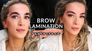 I TRIED BROW LAMINATION: THE NEXT BIG THING? WORTH IT?   leighannsays