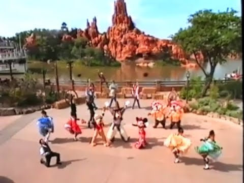 Sing Along Songs Let's Go To Disneyland Paris (1997)