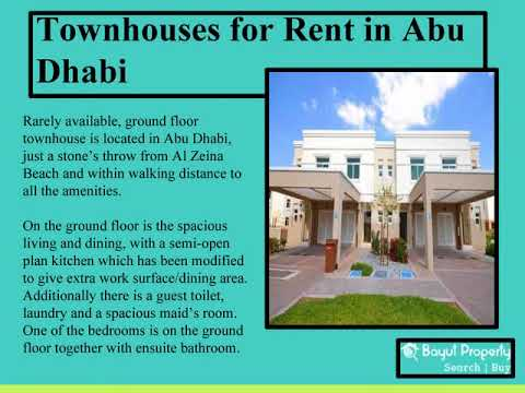 Houses for Rent in UAE ,Townhouses for Rent in UAE,Search Townhouses for Rent