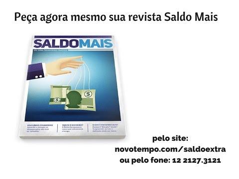 Peça já sua Revista Saldo Mais!!!