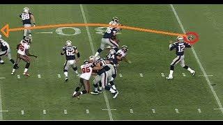 Top 10 Tom Brady Throws   NFL