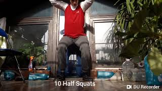 QUICK FULL BODY WORKOUT FOR ABSOLUTE BEGFINEES AT HOME