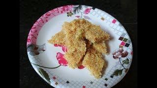 Fresh Coconut Burfi Recipe | Instant Coconut Barfi Recipe | Nariyal Ki Barfi Without Khoya