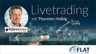Thorsten Helbig (forexPro Systeme) - Livetrading bei FXFlat am 04.04.2019