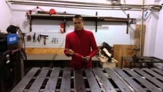Сварочный стол. Изготовление своими руками. Хороший вариант для сварочной мастерской.(В данном видео мы предлагаем обзор нашего сварочного стола. Стол разработан нами с учетом наших потребност..., 2016-01-09T18:20:56.000Z)
