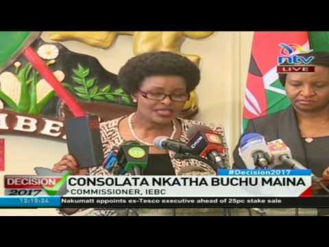 Seven new IEBC commissioners swearing in ceremony