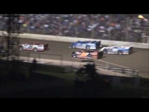 Late Model Feature From Portsmouth Raceway Park, 8/31/13.