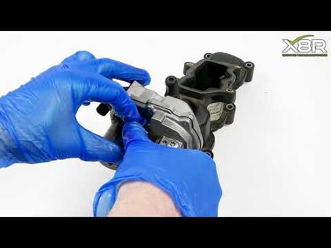 Audi Seat Skoda VW 2.7 3.0 TDI Intake Manifold P2015 Error Motor Actuator Bracket Fix Install Guide