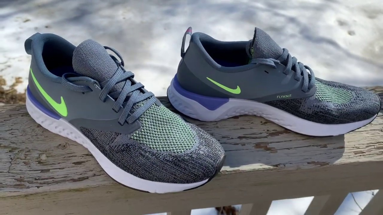 f2b1d835bd Road Trail Run: NIke Odyssey React 2 Flyknit Initial Review: It's Epic React  plus some Pop and A Touch of Stability