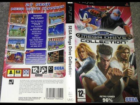 Sega Megadrive Collection na Sony PSP - przeglad gier