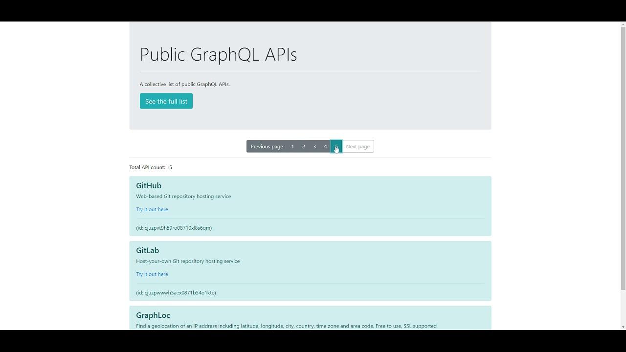 GraphQL Pagination using React, Apollo and GraphCMS | Code Wall