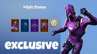 Fortnite: Redeeming Dark Vertex Exclusive Set - Gameplay Showcase! (300 $ Xbox One)