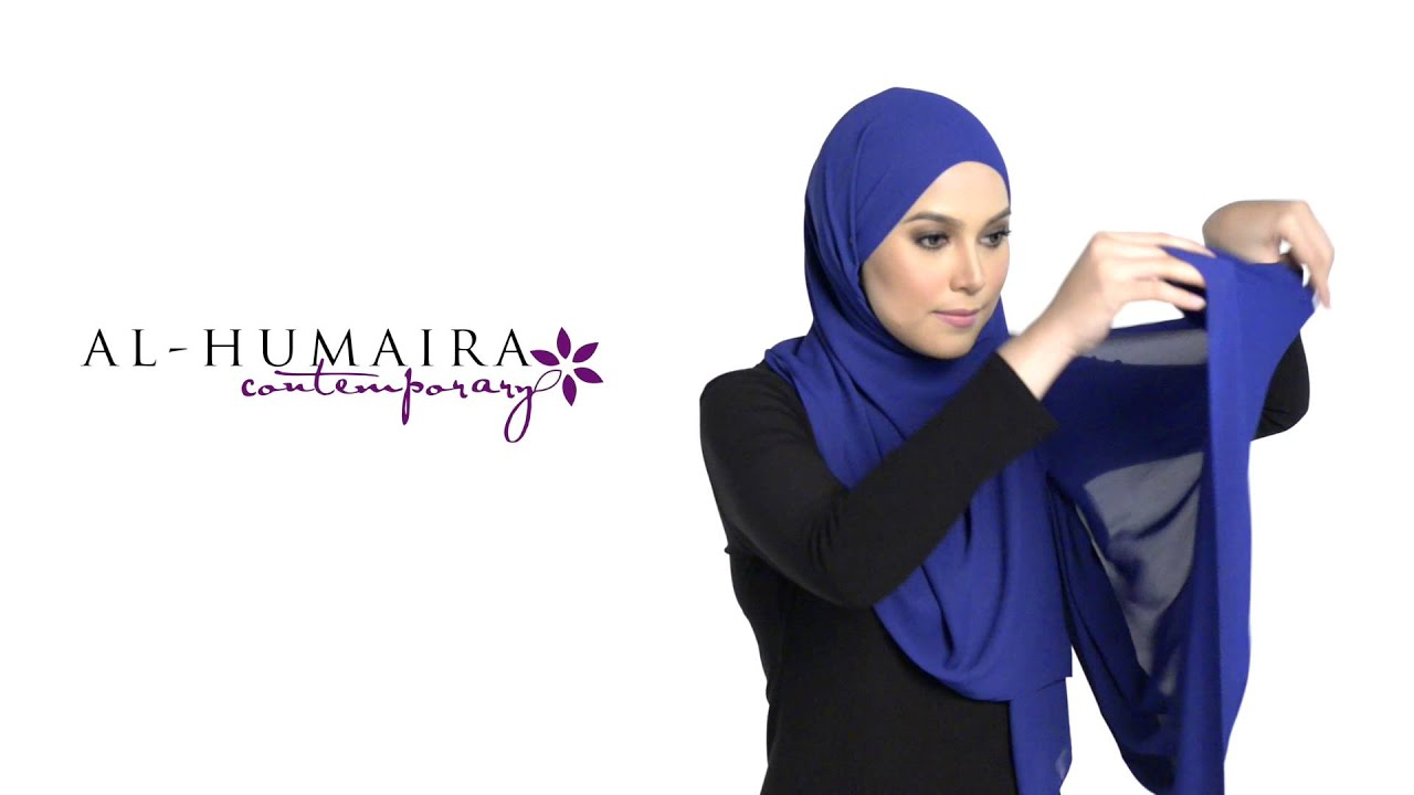 Maelys shawl styling tutorial by al-humaira contemporary youtube.