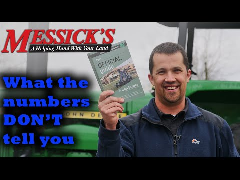 BLUE BOOK Tractor Values. Fact Or Fiction? TMT