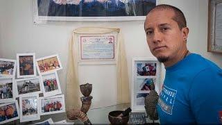 Aldo Valencia, el primer poblano en escalar el Everest llegó a casa