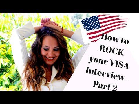 🔴LIVE: Rock Your B1 Visa Interview - part 2