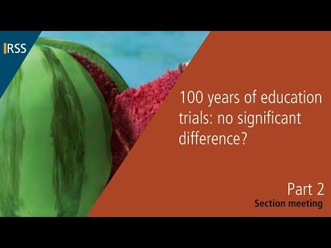 100 years of education trials: no significant difference? Part 2
