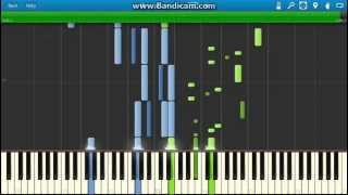Tchaikovsky - The Nutcracker Suite- Dance of the Mirlitons piano(Synthesia)