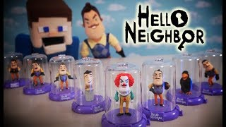 Download Hello Neighbor DOMEZ Blind Bag Case Toys Unboxing Plush Clown Funko Jumpscare Review Game Trailer Mp3 and Videos