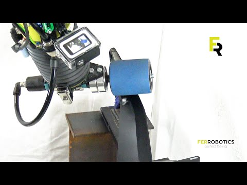 Sanding with the ACF-Kit - Die Grinder by FerRobotics
