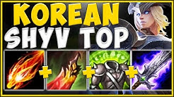 THE *NEW* SHYVANNA BUILD THAT'S STOMPING KOREA IS 100% ABSURD! SHYVANNA TOP! - League of Legends